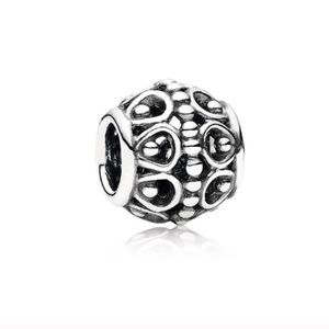 Pandora A Cloud's Silver Lining Openwork Charm